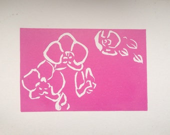 Orchid limited edition Print