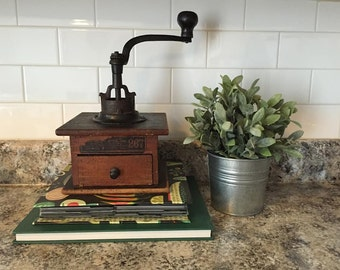 Antique Arcade Coffee Grinder