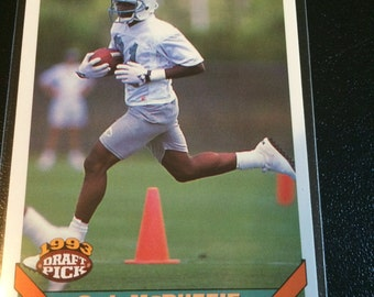 1993 Topps Draft Pick O.J. McDuffie - Dolphins - I will NOT be relisting this item