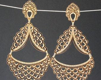 Hive  Statement Earrings