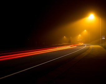 A Foggy Night In Roseville