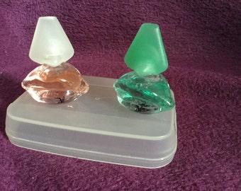 Two Salvador Dali vintage miniature perfumes