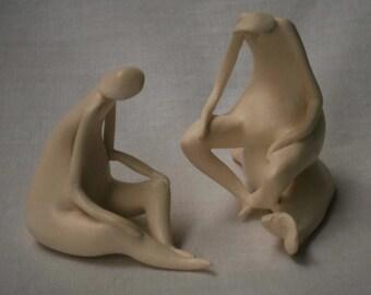 Sculpture Of Fishermen