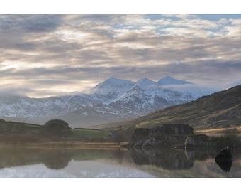 Towards Snowdon - Snowdonia - North Wales UK - Fine art landscape photography print