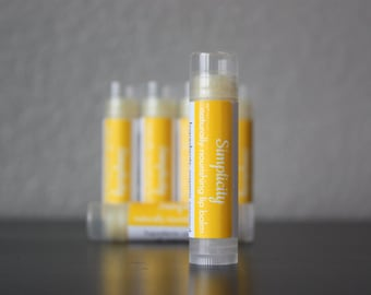 Simplicity Organic lip balm (1 tube) - untinted, unscented, natural lip care, chap stick