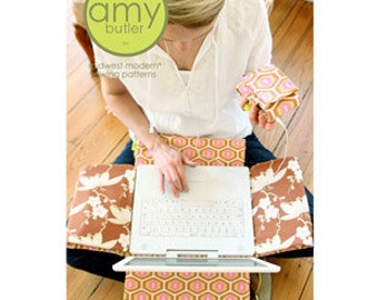 Amy Butler Sewing Pattern, Computer Laptop Cover