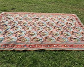 Vintage Persian Kilim Rug...
