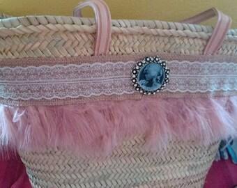 Handmade woman carrycot