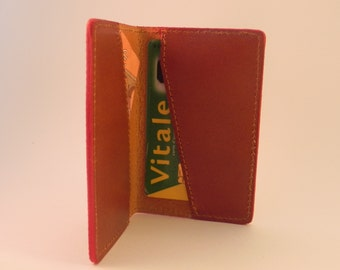 Door card leather