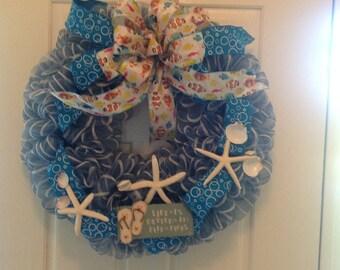 Beach/Summertime wreath