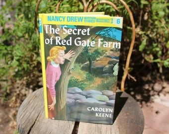 1994 Nancy Drew - The Secret of the Red Gate Farm #6 Flashlight Mystery Glossy by Carolyn Keene - EXCELLENT CONDITION