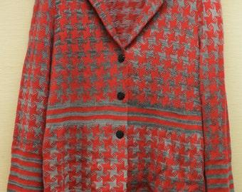 Zigzag fence child jacket