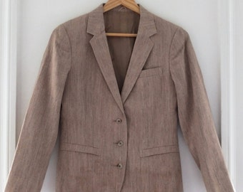 Sachel RAW SILK JACKET Blazer xs