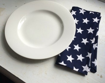 July 4th Cloth Napkins - Set of four