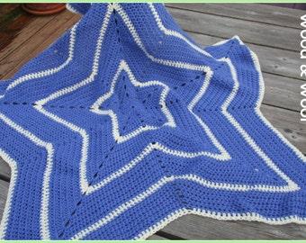Baby Star blanket, crochet star blanket, baby wearing blanket, custom colours, baby shower gift, new baby gift, crochet blanket