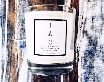 IAC • Fresh Panties • 100% Soy Wax Candle • Fresh Linen+Rain