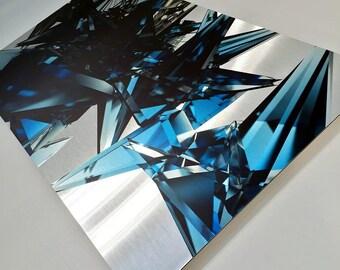 Prism Array   Brushed Aluminum