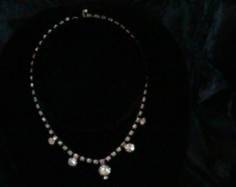 Diamond Necklace/Choker from the 1960's