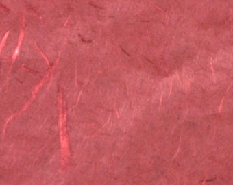 "Pack of 5 sheets of rice paper to decoupage color ""red"", gr 16 cm 64x94."