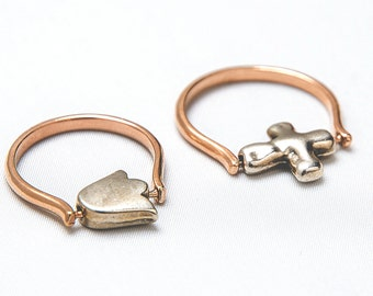Ring Mirini & Tulip ring