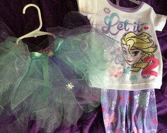 Frozen number 2 bday outfit