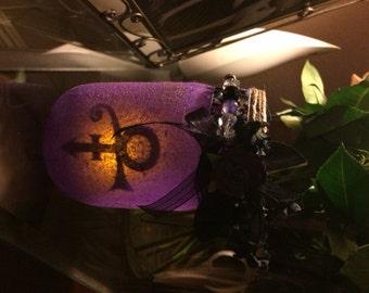 Prince Tribute Mason Jar Lantern