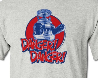 DANGER! DANGER! Lost In Space Robot - 100% Cotton T-Shirt