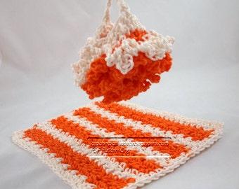 5 Crochet Dishcloth And Washcloth Patterns Crochet Dishcloth Patterns Crochet Spa Patterns Easy Crochet Pattern Scrubber Housewarming Gift