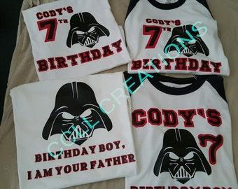 Family Darth Vader Shirts
