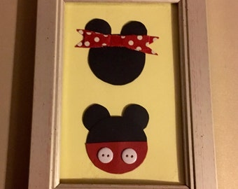 Mickey and Minnie 7 X 5
