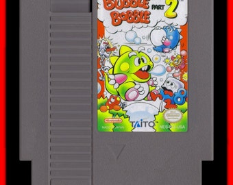 Bubble Bobble 2 Reproduction Nintendo (NES) - new - free shipping!