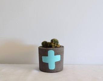 Little Concrete Pot