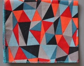 Pocket Square - Bold Geometric (Handkerchief)