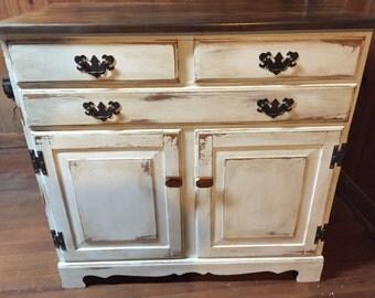 SOLD- Vintage Chic Dresser