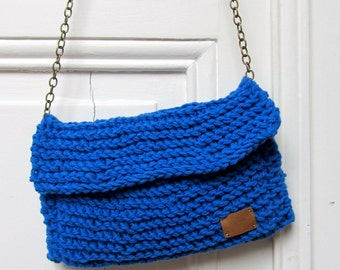 The blue pouch