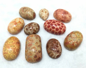 Coral Jade Pieces. Great for ring, necklace, bracelet and another accessories. Price per 1 piece
