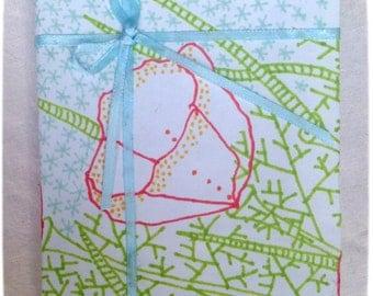 handmade notepad,