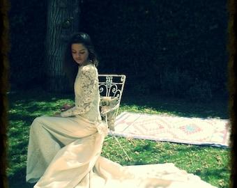 AMAZING WEDDING DRESS 80'S