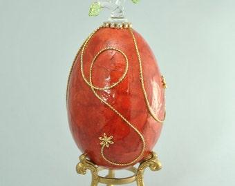 Briana - oeuf d'oie - goose egg