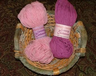 Filatura Lanarota Luxury Cashmere Yarn Made in Italy Crochet Knit