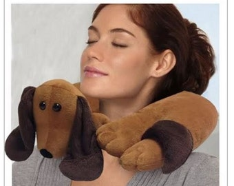 Dachshund Plush Neck Pillow