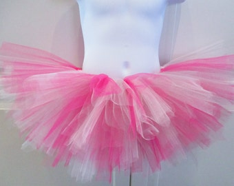 Hot Pink, White and Silver Tutu - Other Colors Available
