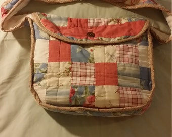 Upcycled Handmade Quilt Purse