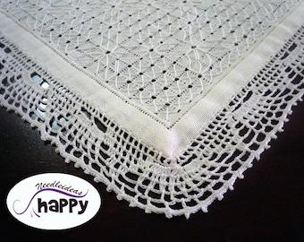 Doily Openwork  White Doily Crochet