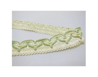 green   braid trim embellishments