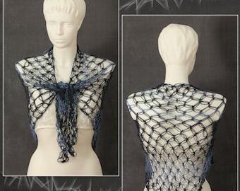original spring scraf,crocheted scarf, bridal shawl , bolero, bridal cape, gifts for her