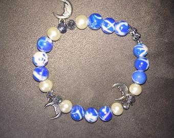 Silver Moon Bracelet