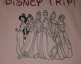 Disney Princess First Disney Trip