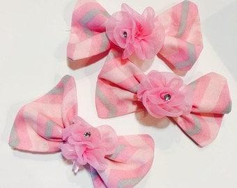 Pink Petals Bow