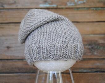 Newborn knit hat, baby beanie, baby girl hat, baby boy hat, newborn knit beanie, newborn girl, newborn boy, newborn photo prop